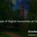A Decade of Digital Humanities at Vanderbilt
