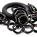 rubber o-rings of various sizes
