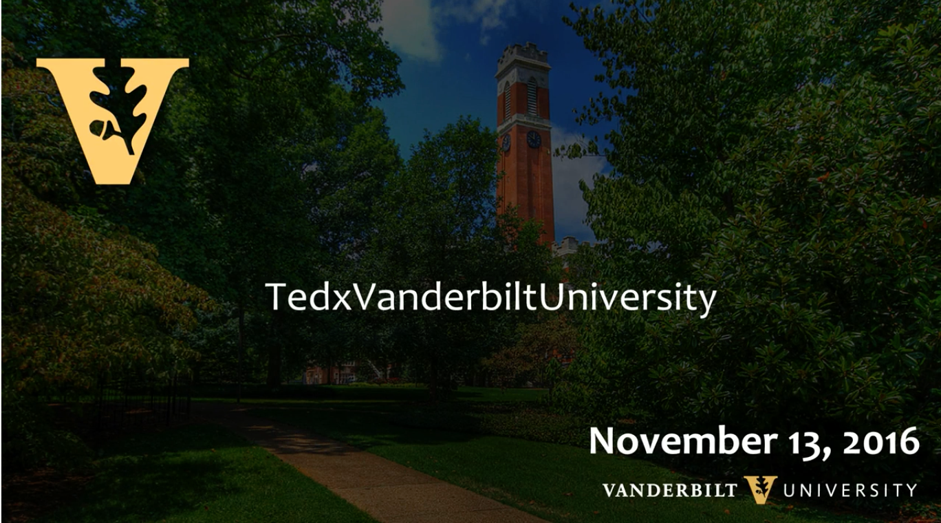 TEDxVanderbiltUniversity 2016