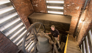 Clock of Ages: 40 years of climbing Kirkland Tower, and Paul Young keeps on ticking
