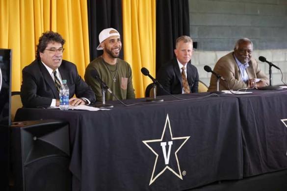 Vanderbilt Press Conference Nov. 18, 2016 (John Russell/Vanderbilt)