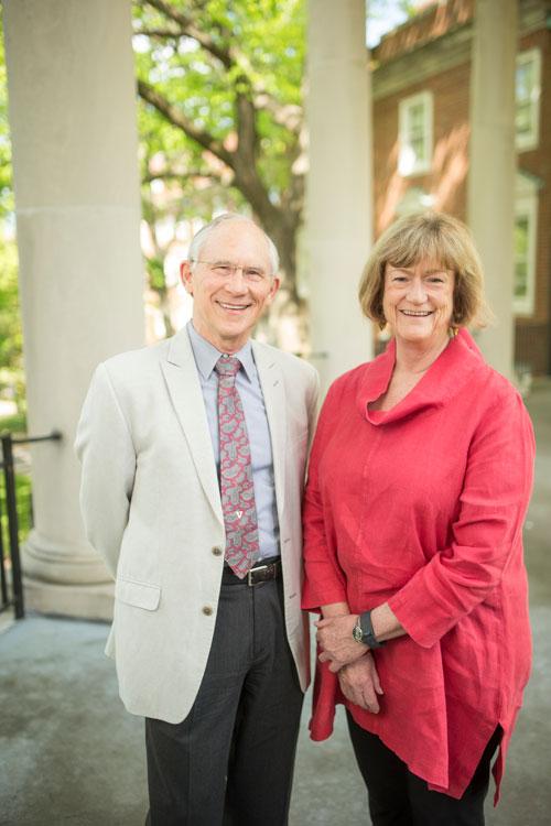 Mark Lipsey and Dale Farran (John Russell/Vanderbilt)