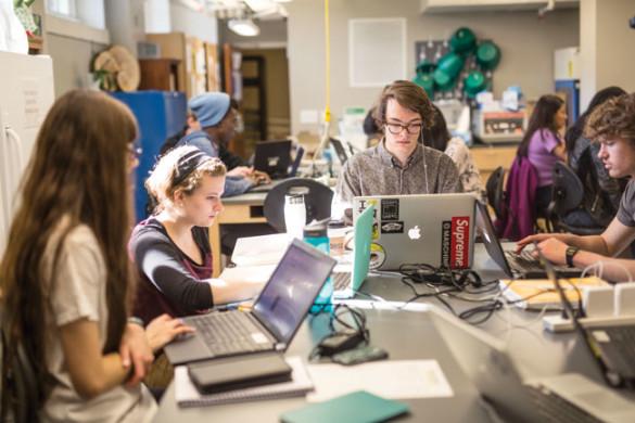 The School for Science and Math at Vanderbilt meets at Wyatt Center. (Vanderbilt)