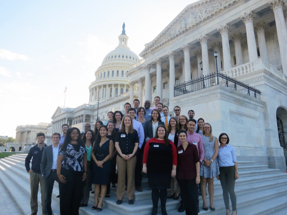 On Oct. 13-14, 28 Vanderbilt undergraduate and graduate students and postdoctoral scholars, spent their fall break in Washington, D.C., participating in the third annual Vanderbilt Federal STEM Policy and Advocacy seminar.