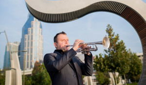 New faculty: Jose Sibaja brings performance experience, trumpet fundamentals to Blair