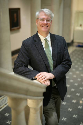 Joseph L. Rife, founding director of the Program in Classical and Mediterranean Studies (Anne Rayner/Vanderbilt)