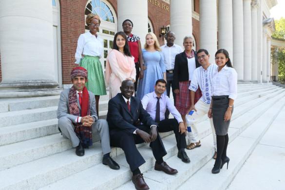 Vanderbilt Peabody College's Humphrey Fellows 2016-17 cohort (Anne Rayner/Vanderbilt)