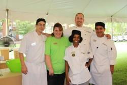 Campus Dining staff