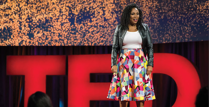 speaking at ted talk