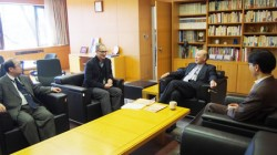 wernke meets with japanese scholars