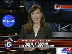 screen cap of amber tv news interview