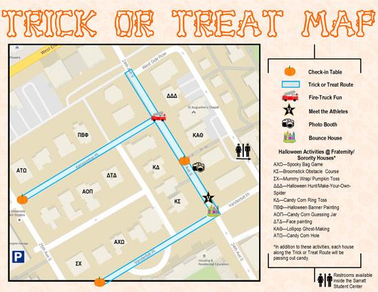 Trick Or Treat With The Greeks And Student Athletes Oct 30 Vanderbilt News Vanderbilt University