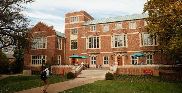 Alumni Hall, home of Vanderbilt Graduate School at Vanderbilt.