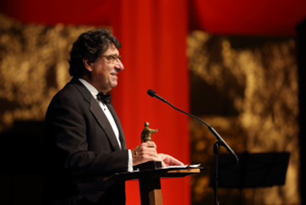 Vanderbilt Chancellor Nicholas S. Zeppos at the TPAC Annual Gala Aug. 29.