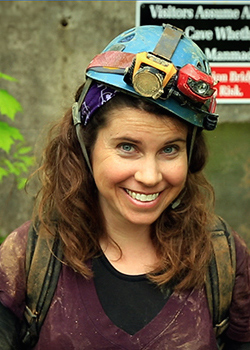 jessica oster in a hardhat