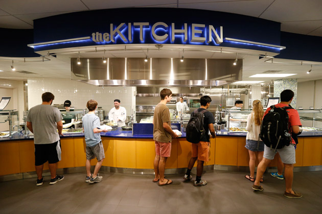 The Kissam Kitchen at Warren and Moore Colleges