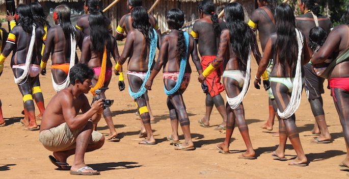 Filmmaker films indigenous tribe