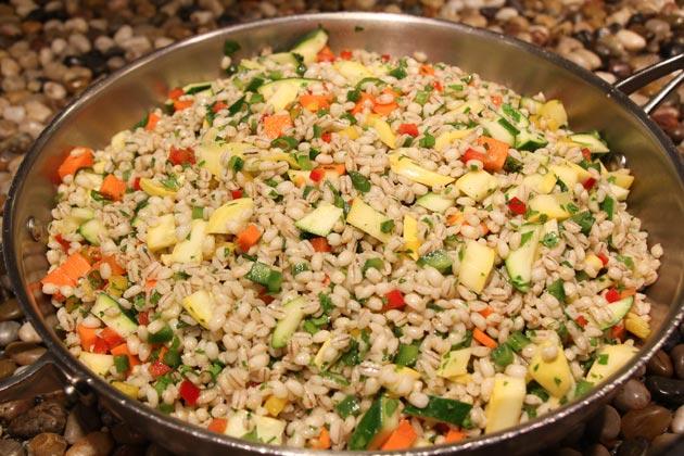 Barley Primavera (Julie Crider/Vanderbilt Campus Dining)