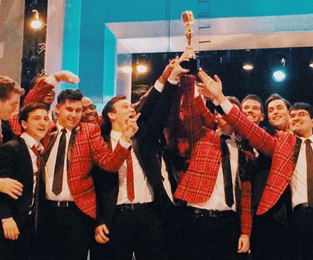 "The Vanderbilt Melodores win season five of NBC's ""The Sing-Off."" (courtesy of The Melodores)"