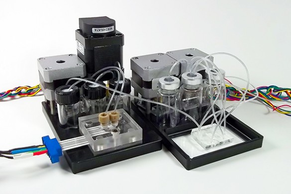 Module with pump