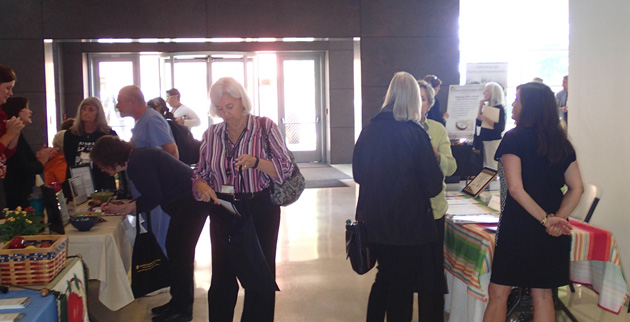 Vanderbilt's fifth annual Elder Care Fair was held Oct. 3 in Light Hall.