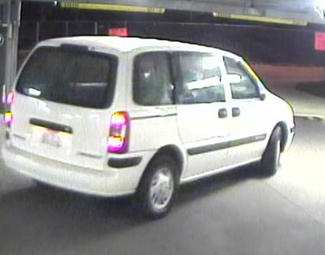 The vehicle reportedly used in an attempted abduction on Vanderbilt's campus Sept. 22.
