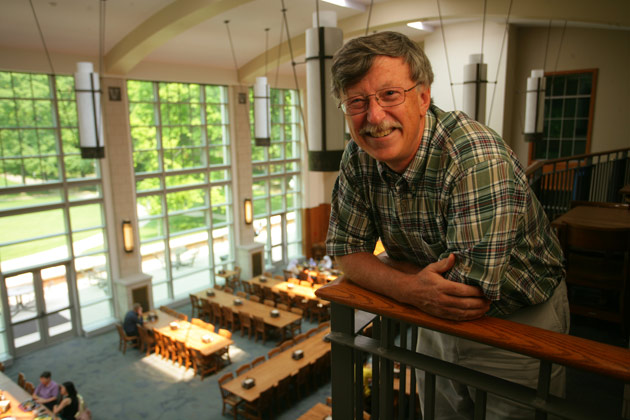 Frank Wciso, dean of The Martha Rivers Ingram Commons. (Daniel Dubois/Vanderbilt)