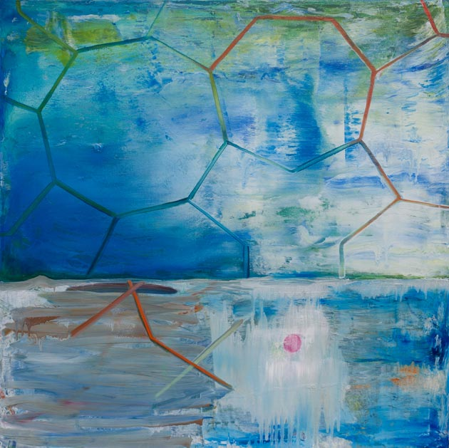 """Blue (Three and Sevens)"" by Kathryn McDonnell"