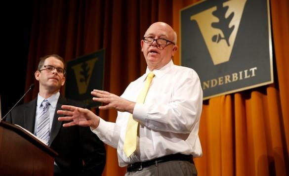 John Geer and Josh Clinton at podium