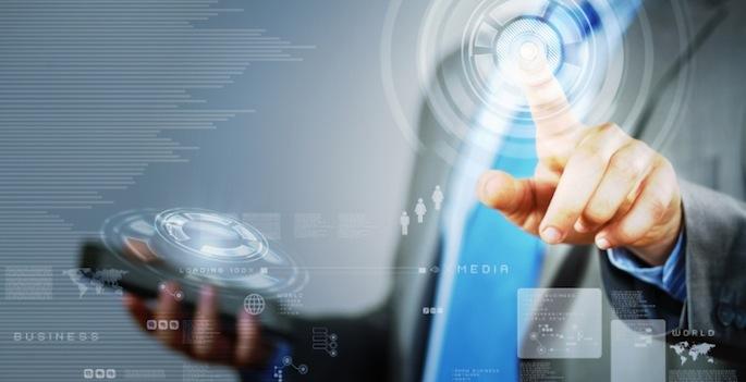 futuristic touchscreen concept