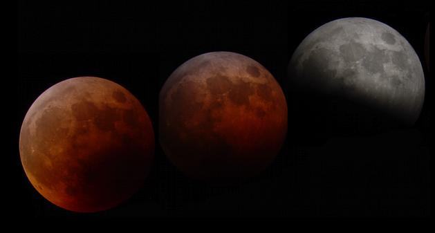 lunar eclips illustration