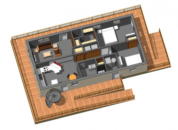 Solar Decathlon floor plan