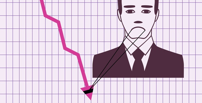 sad stock market graphic