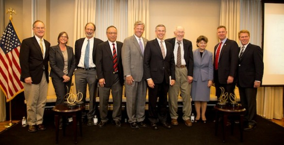 Golden Goose awardees and committee