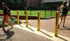 Public Safety encourages pedestrian safety across campus