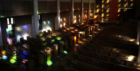 Benton Chapel interior