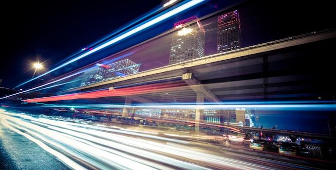 time lapse traffic