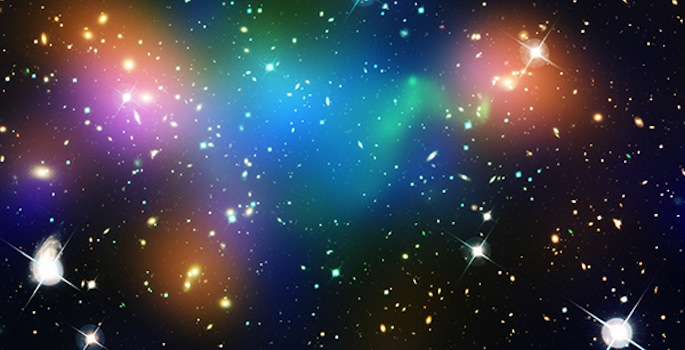 Abell 520 galaxy cluster