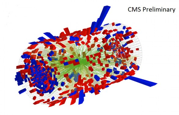 CMS collision illustration
