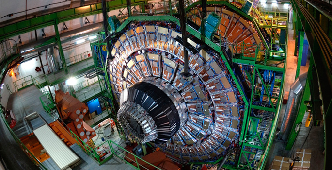Compact Muon Solenoid detector at the Large Hadron Collider