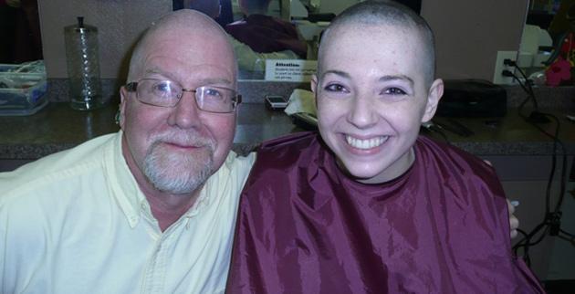 Jon Hallquist (left) and Laura Winston. (Vanderbilt University Theatre)