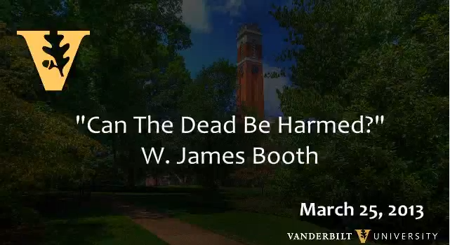 Booth Berry Lecture title card