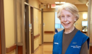 For Cancer Center's Joyce, volunteering comes naturally