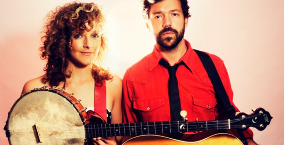 Abigail Washburn and Kai Welch (Image courtesy of Vanderbilt U.S.-China Center for Education and Culture)