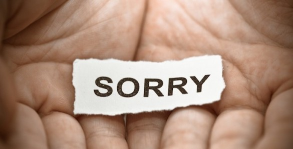 sorry - text in hand
