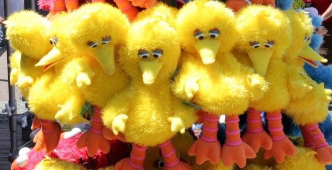 Big Bird dolls