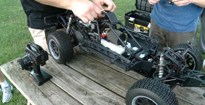 AVMake model car