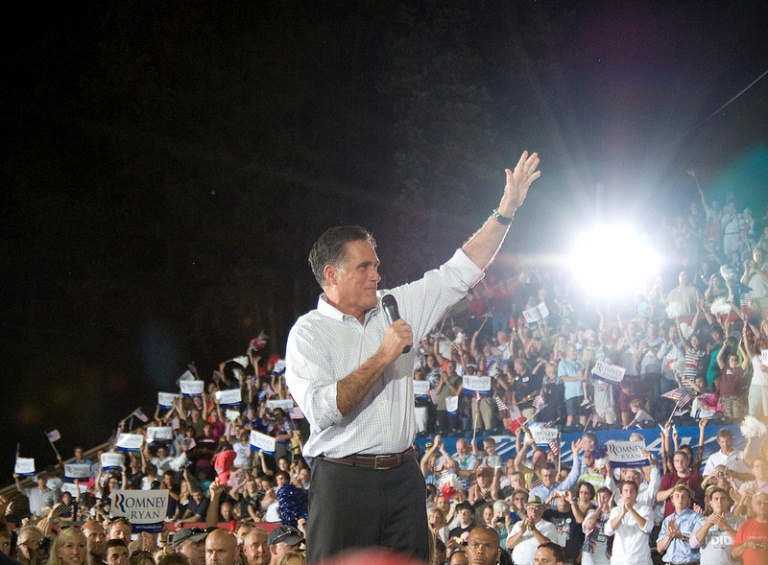 Romney Political Rally