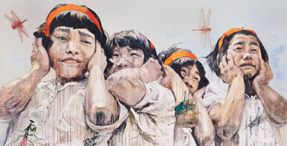 """From """"First Spring Thunder,"""" a collection by Hung Liu."""