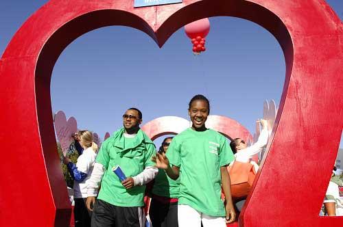 The 2011 Nashville Heart Walk. (Anne Rayner/Vanderbilt)